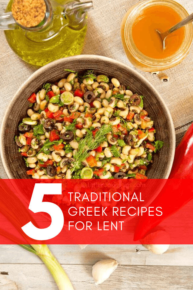 Five Traditional Greek recipes for Lent