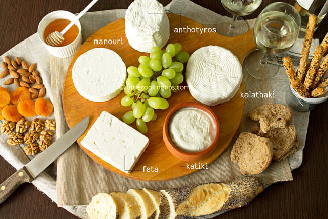 5 popular white Greek cheeses you should try