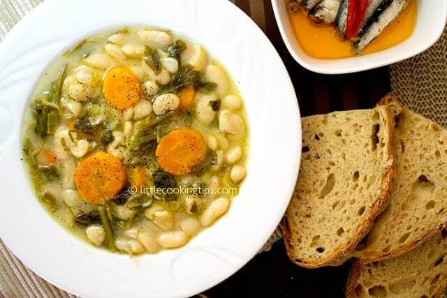 Littlecookingtips - White bean soup