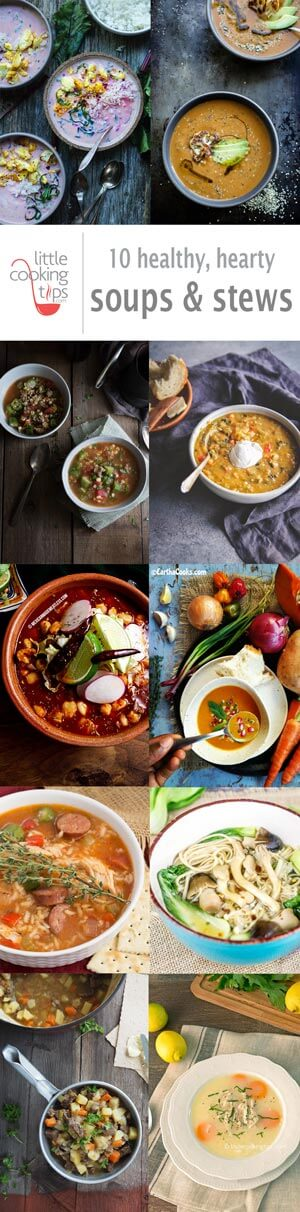 10 healthy hearty soups & stews