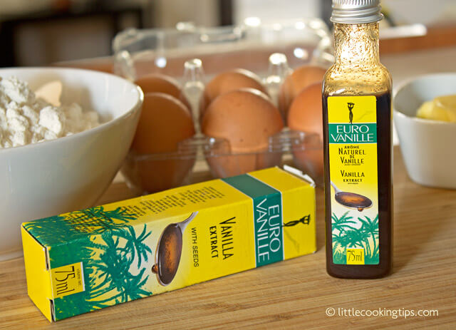 Little Cooking Tips - Eurovanille vanilla extract article