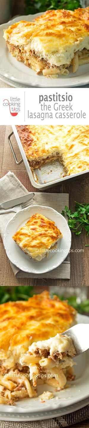 Pastitsio: The Greek Lasagna Casserole
