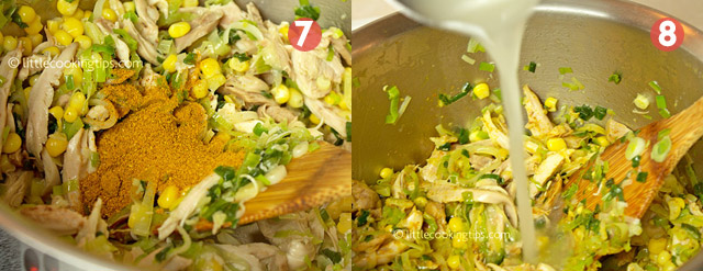 Little Cooking Tips Easy Thai Chicken Noodle Soup - Preparation