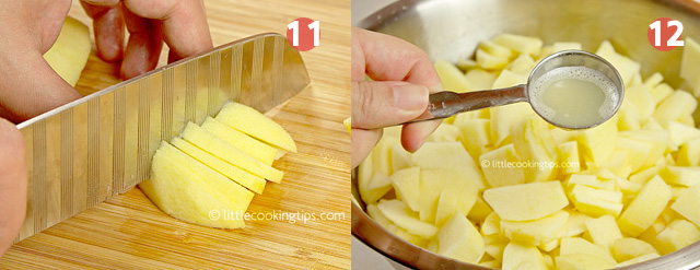 Little Cooking Tips Traditional Homemade Apple Pie Step by Step