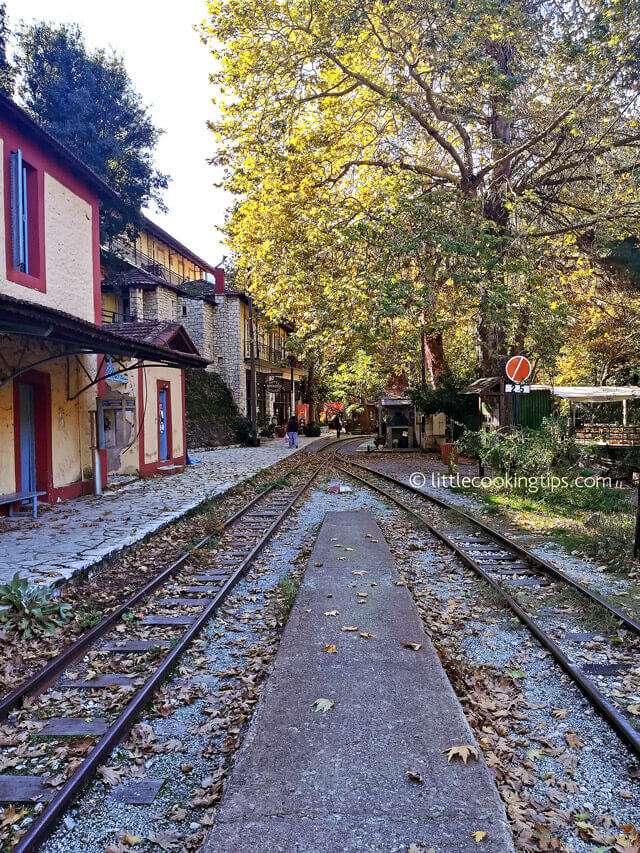 LittleCookingTips Zachlorou Train Station-Mega Spilaio