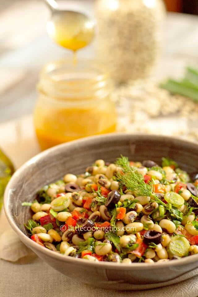 LittleCookingTips Black-eyed Pea Salad