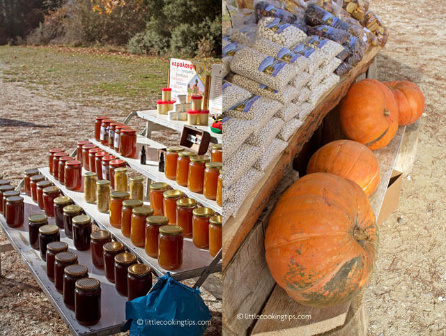 LittleCookingTips Lake Doksa, Greece Local Produce