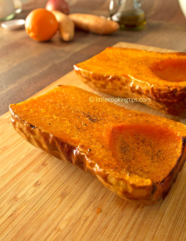 Little Cooking Tips - Hearty Roasted Butternut Squash Soup