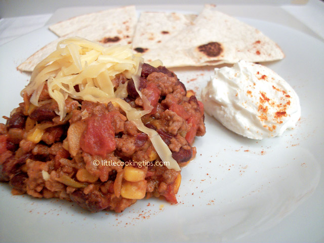 Little Cooking Tips Chilli con carne