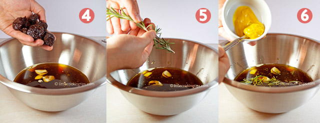 Little Cooking Tips Dark Beer, Rosemary and Plum marinade
