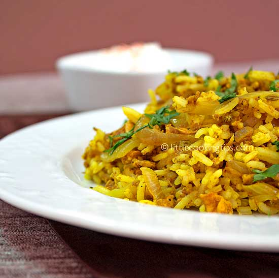 how to make fried rice indian style
