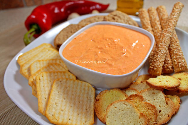 Little Cooking Tips Sweet Pepper Dip / Spread