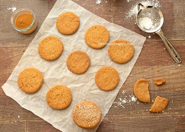 These Are Cinnamon Cookies Without Eggs And Only Contain The Essential Ingredients Of The Basic Cookie Dough Butter Sugar Flour And Baking Powder