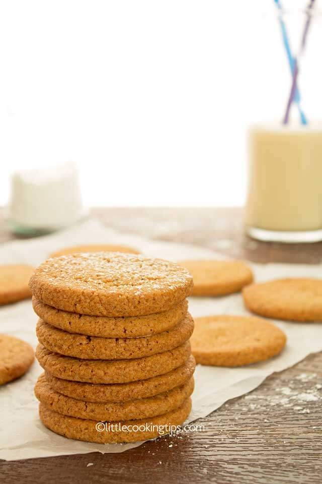 Easy homemade cinnamon cookies