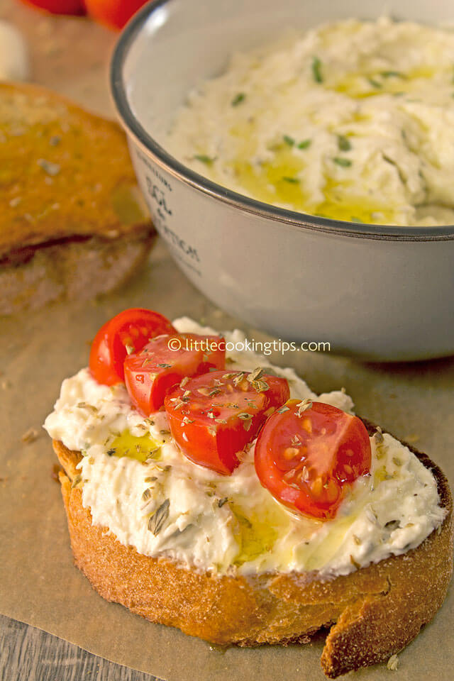 LittleCookingTips - Delicious Creamy Feta Cheese Spread 7