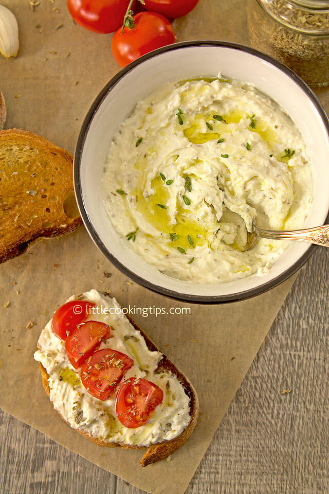 LittleCookingTips - Delicious Creamy Feta Cheese Spread 6