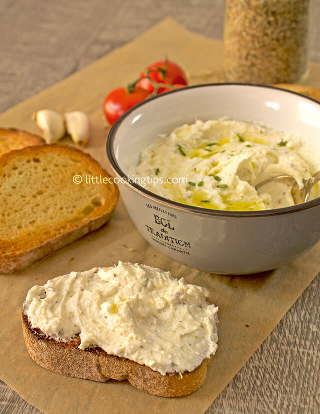 LittleCookingTips - Delicious Creamy Feta Cheese Spread 4
