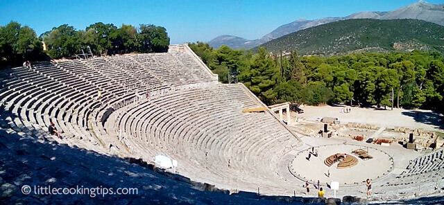 Little Cooking Tips - Ancient Theater of Epidavros