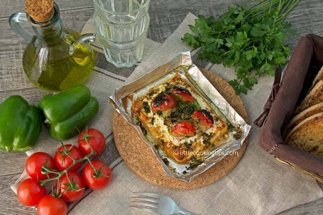 Little Cooking Tips - Oven baked feta