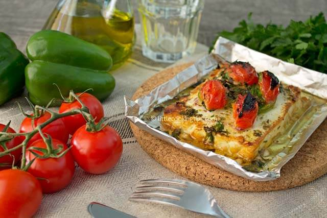 Little Cooking Tips Oven baked feta