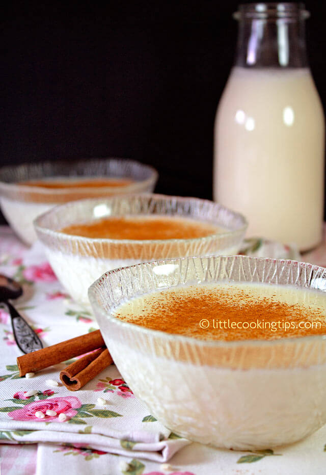 Rizogalo: A creamy Greek Rice Pudding with Chios Mastic flavor