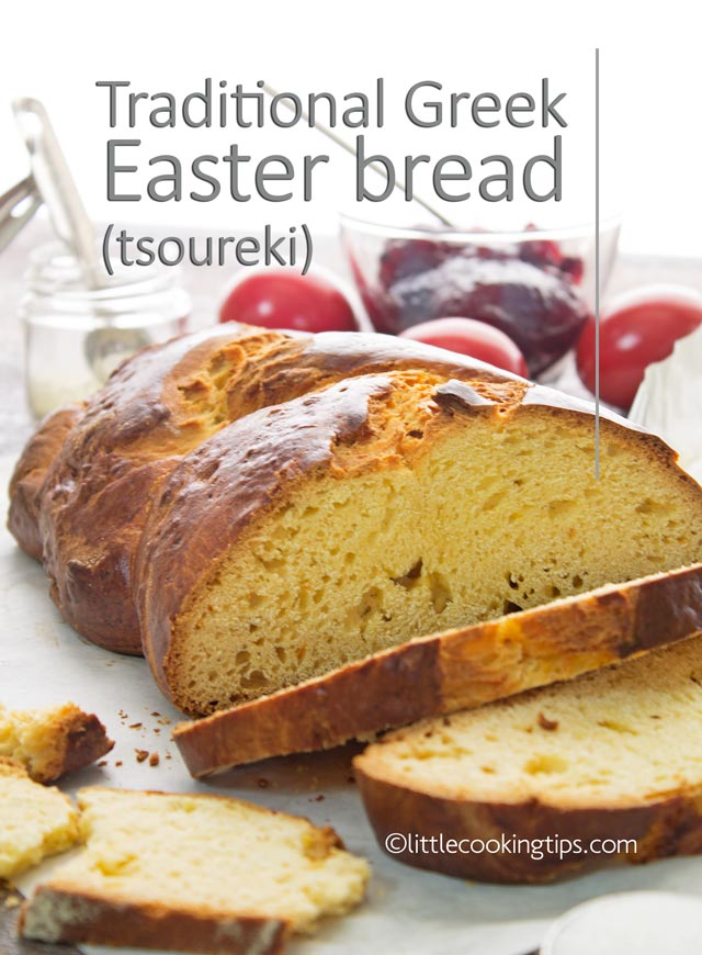 How to make Greek Easter bread (tsoureki): Easy step-by-step ...