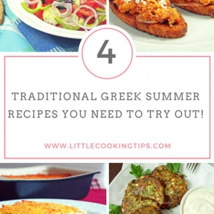 4 Traditional Greek Recipes