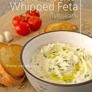 How to make Greek Whipped Feta (Tyrosalata)