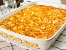 Feta and Sausage Mac and Cheese