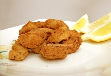 Pan Fried Mussels