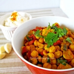 Curry Chickpeas (Garbanzo beans)