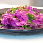 Υogurt beetroot salad (a Greek delicacy)