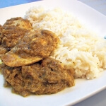 Indian chicken with yogurt and spices!