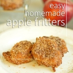 Easy Homemade Apple fritters (eggless, no-yeast, no-milk)