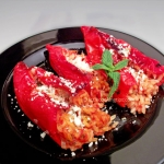 Stuffed Italian sweet peppers