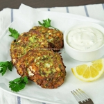 Greek zucchini and feta fritters (Kolokythokeftedes)