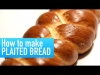 How to Make Plaited Bread