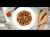 Easy Oven Roasted Sweet Potatoes and Mushrooms with Wine (Vegan)