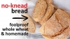 No knead whole wheat bread recipe | Foolproof and perfect for beginners